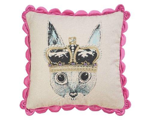 Ginger in Wonderland Cushion Prince - Pink