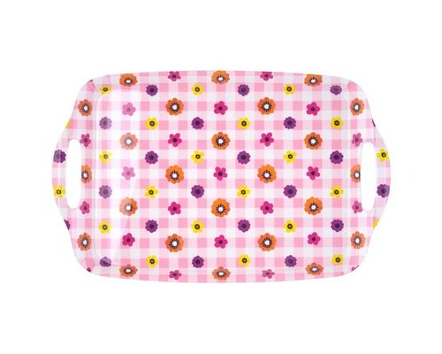 Funky Garden Medium Melamine Tray
