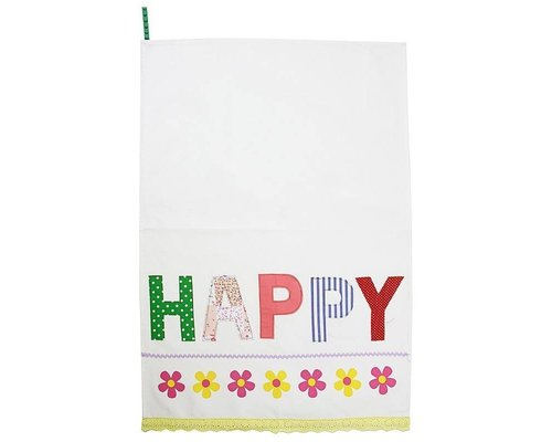 Tea Towel - HAPPY