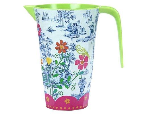 My Secret Garden Toile Melamine Jug