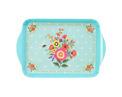 Romantic Garden Small Melamine Tray
