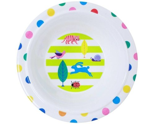 My Secret Garden Kids Melamine Kids Bowl