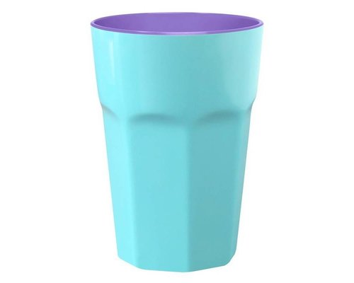 Pastel Colours Two Tone Extra Large Melamine Cup - Blue