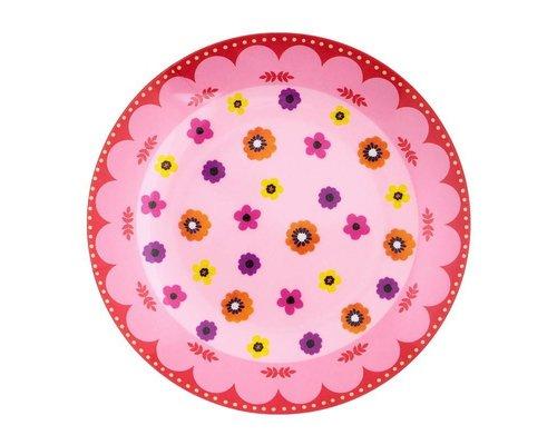 Funky Garden Melamine Mini Plate