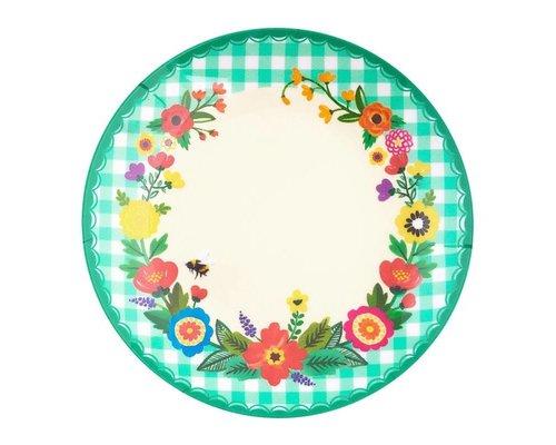 Grandmothers Garden Melamine Mini Plate