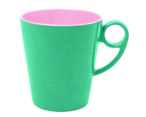 Aquamarine Two Tone Melamine Mug