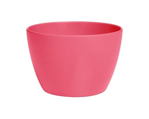 Pastel Colours Small Melamine Basic Bowl - Coral