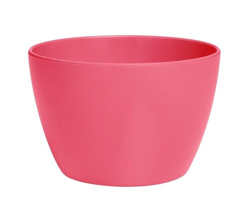 Pastel Colours Medium Melamine Basic Bowl - Coral