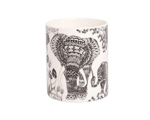 My World Too Elephant Ceramic Mug