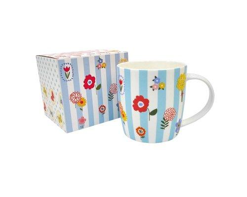 Ceramic Mug Flowers