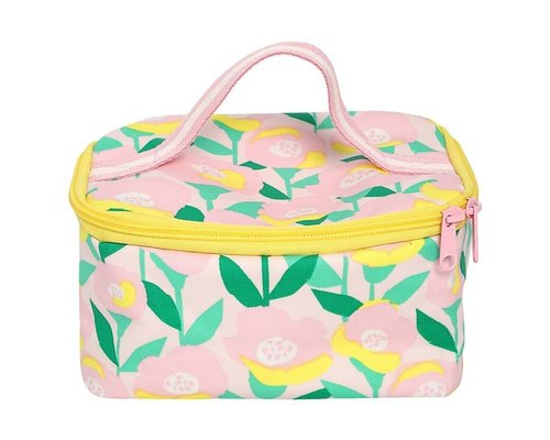Happy Summer Poppy in Pink Small Cooler Bag