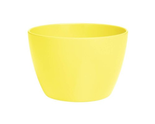 Pastel Colours Small Melamine Basic Bowl - Yellow
