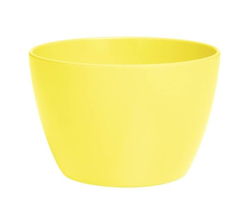 Pastel Colours Medium Melamine Basic Bowl - Yellow