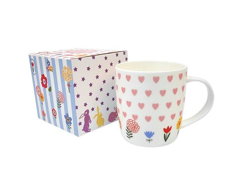 Ceramic Mug Hearts