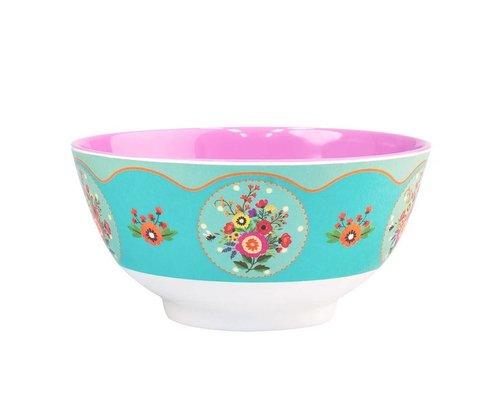Romantic Garden Medium Melamine Bowl