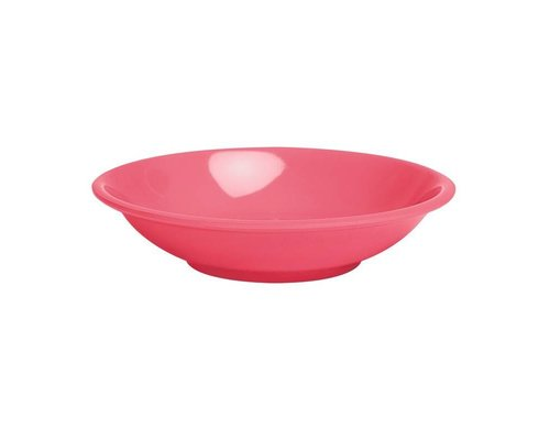 Pastel Colours Extra Small Melamine Dipping Bowl - Coral
