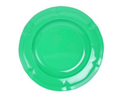Aquamarine Vintage Melamine Dinner Plate