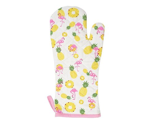Pineapple & Flamingo Hot Glove