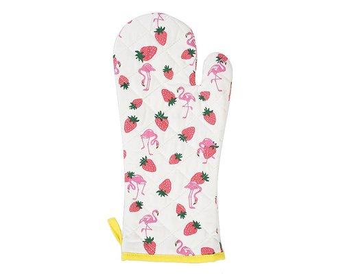 Strawberry & Flamingo Hot Glove