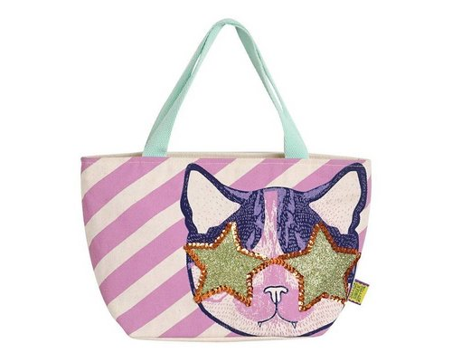 Cat Rock & Roll Mini Handbag