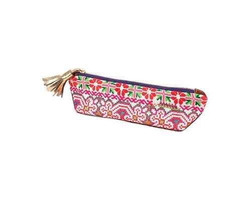 Go Tribal Pencil Case - Red