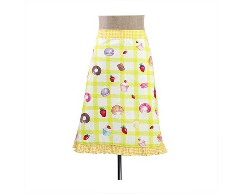 Bakery Half Apron - Yellow