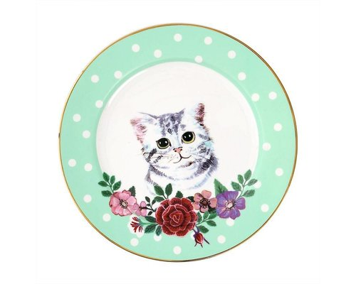 Cat Ceramic Lunch Plate