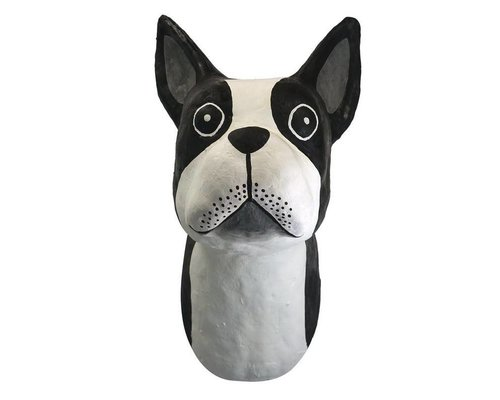 Wall Hanging Dog - Black