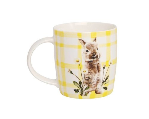 Forest Life Ceramic Mug - Rabbit