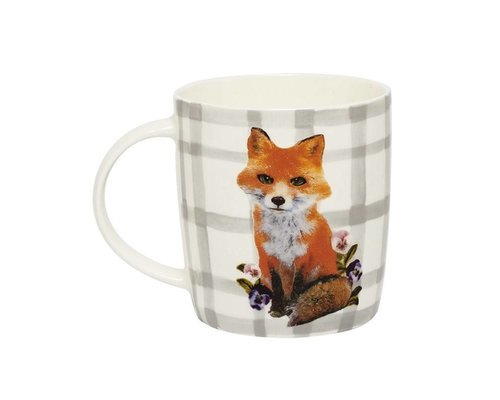 Forest Life Ceramic Mug - Fox
