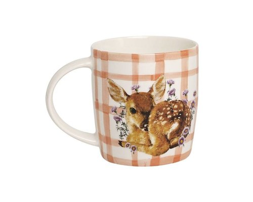 Forest Life Ceramic Mug - Deer