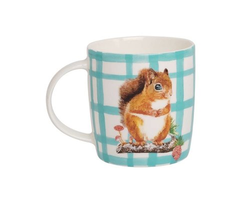 Forest Life Ceramic Mug - Squirrel