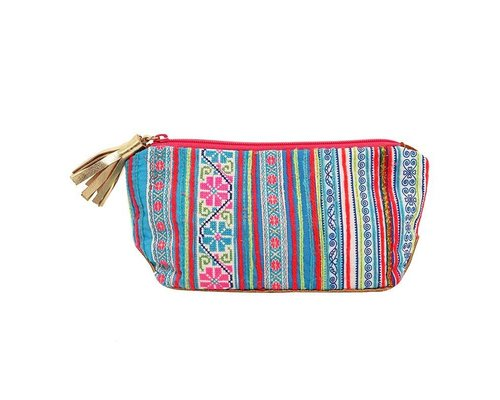 Go Tribal Pouch - Blue
