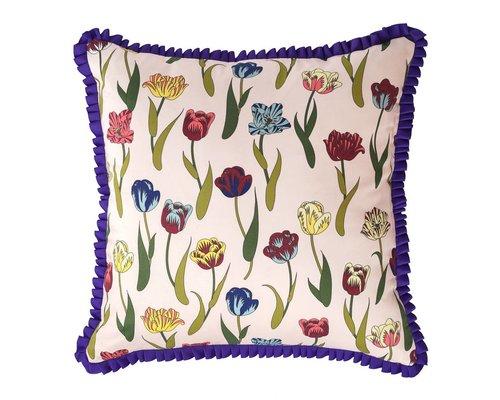 Flower Rain Cushion Ribbon