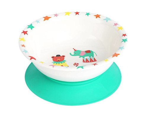 A Day at The Circus Melamine Bowl - suction base