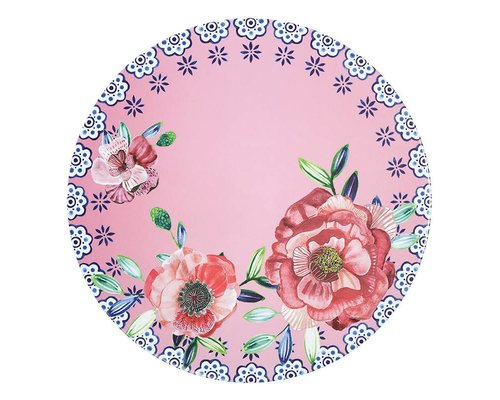 Cheerful Flower Melamine Cake Stand
