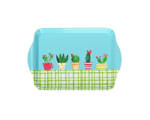 Lovely Cactus Small Melamine Tray
