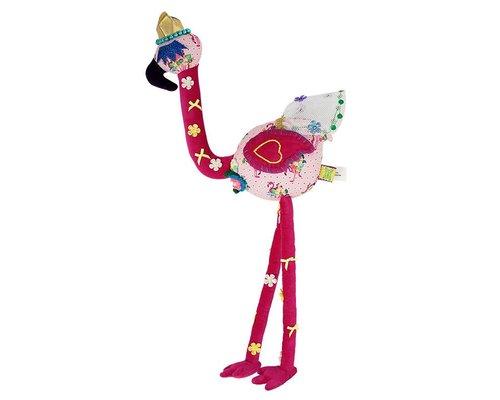 Small Princess Flamingo Soft Toy