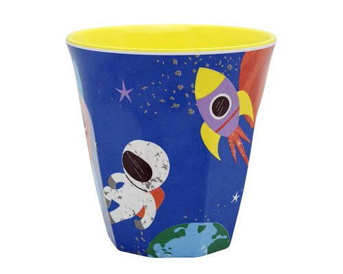 Happy in Space Medium Melamine Cup