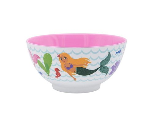 Delightful Mermaid Melamine Bowl