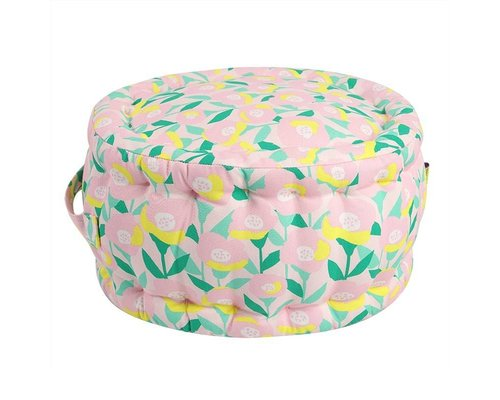 Happy Summer Mini Pouf