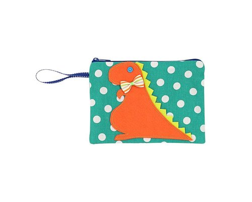Happy Dinosaurs Zip Pouch
