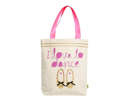 Tote bag - I love to dance