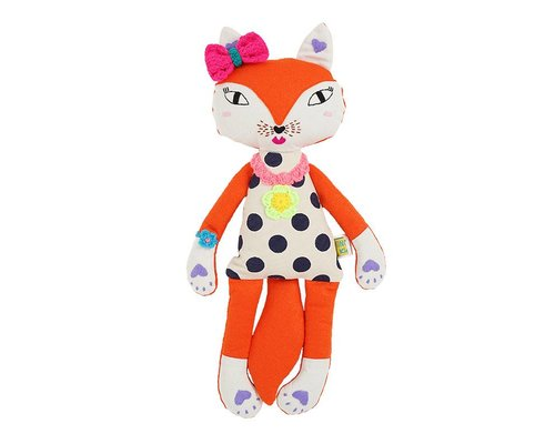 Fox soft Toy Girl