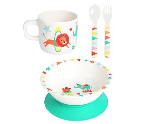 A Day at The Circus Melamine baby set