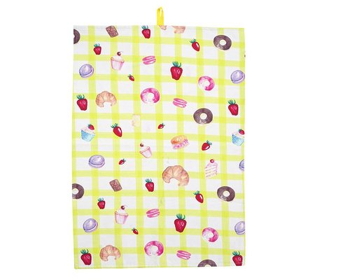 Bakery Tea Towel - Yellow