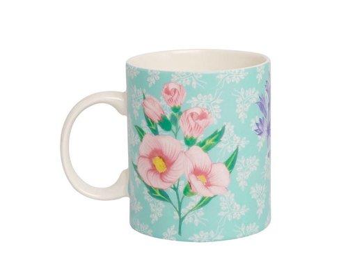 Sweet Botanical Ceramic Mug