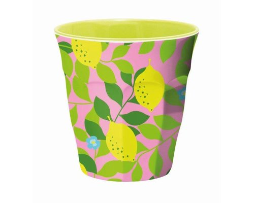Lemonade Medium Melamine Cup
