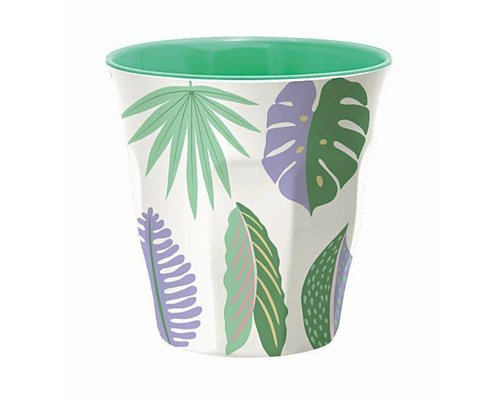 Pretty Leaves Medium Melamine Cup