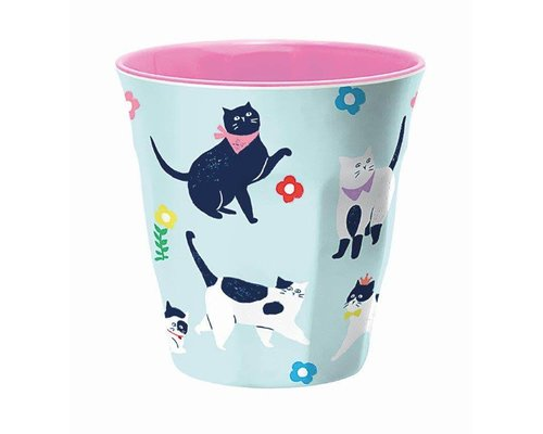 Cute Cats Medium Melamine Cup